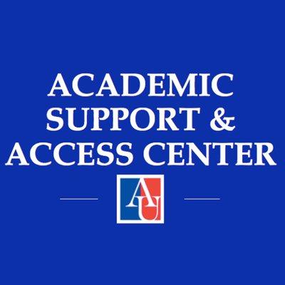 Academic Support & Access Center logo